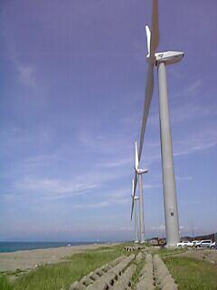 秋田の風車